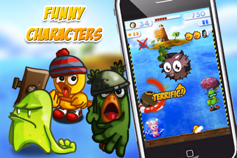Screenshot Whack'N Roll – An awesome funny game